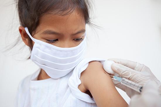 مصل الإنفلونزا للاطفال