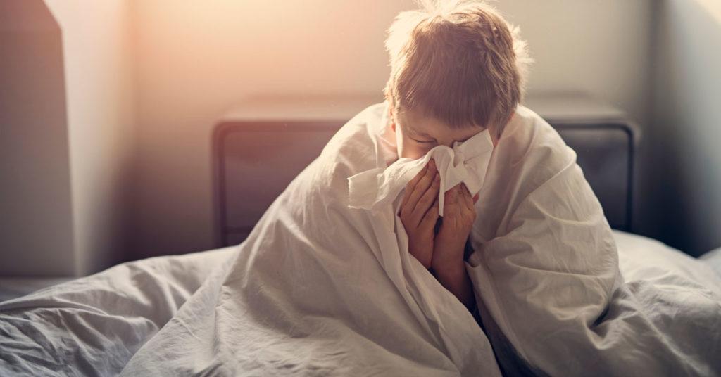 البرد والانفلونزا